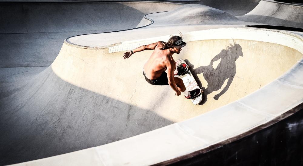 A piece of fine art art photography titled Concrete Waves by Toni Guerra