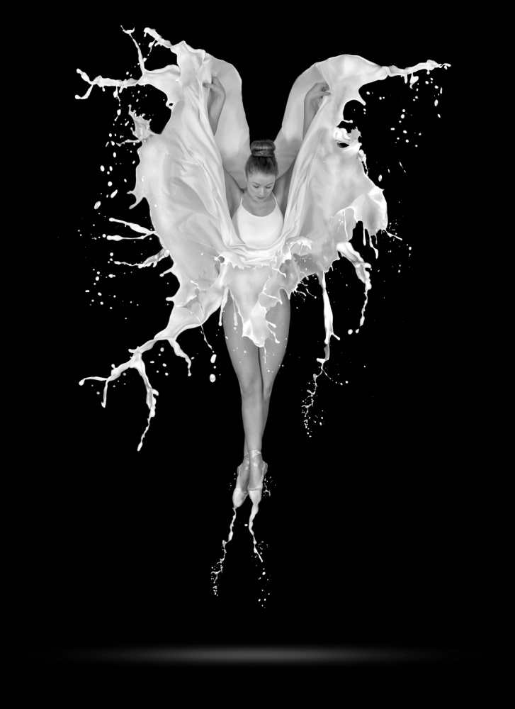 A piece of fine art art photography titled Creme De Le Creme by Pauline Pentony MA ARPS DPAGB