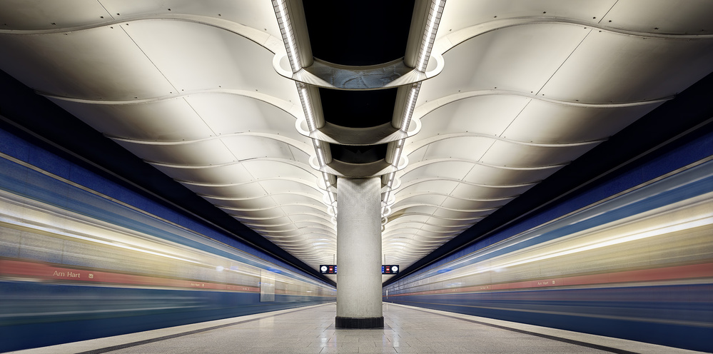 A piece of fine art art photography titled Colored #07# by Andreas Paehge