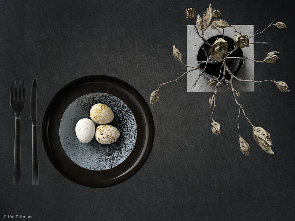 puristic egg menu
