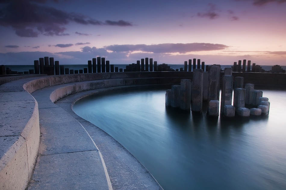 A piece of fine art art photography titled Concrete Elegance by Philip Perold