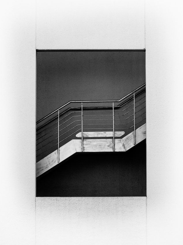 A piece of fine art art photography titled Case of Stairs by kaap
