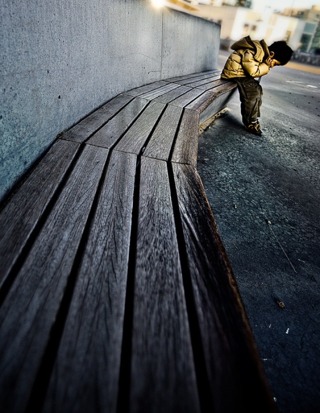 A piece of fine art art photography titled Solitude by Suryo Tutuko