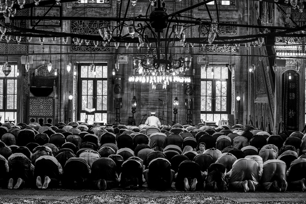 A piece of fine art art photography titled Great Islam by Marco Tagliarino