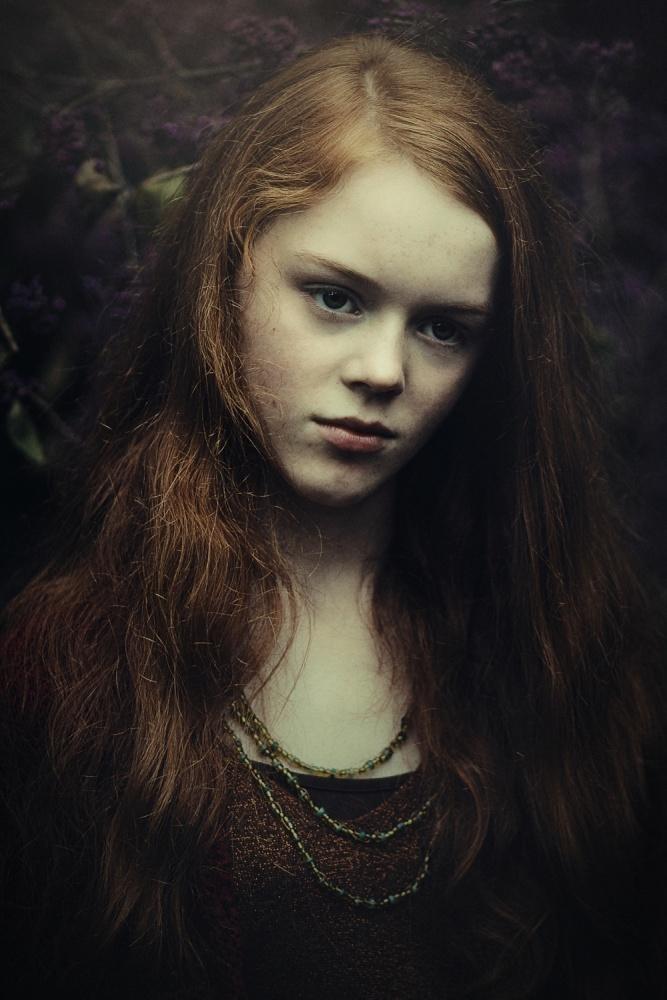A piece of fine art art photography titled Ella by Ela Frączkowska