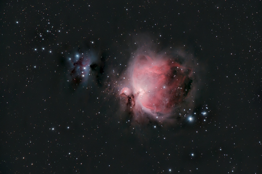 View this piece of fine art photography titled Great Orion Nebula by jennie jiang