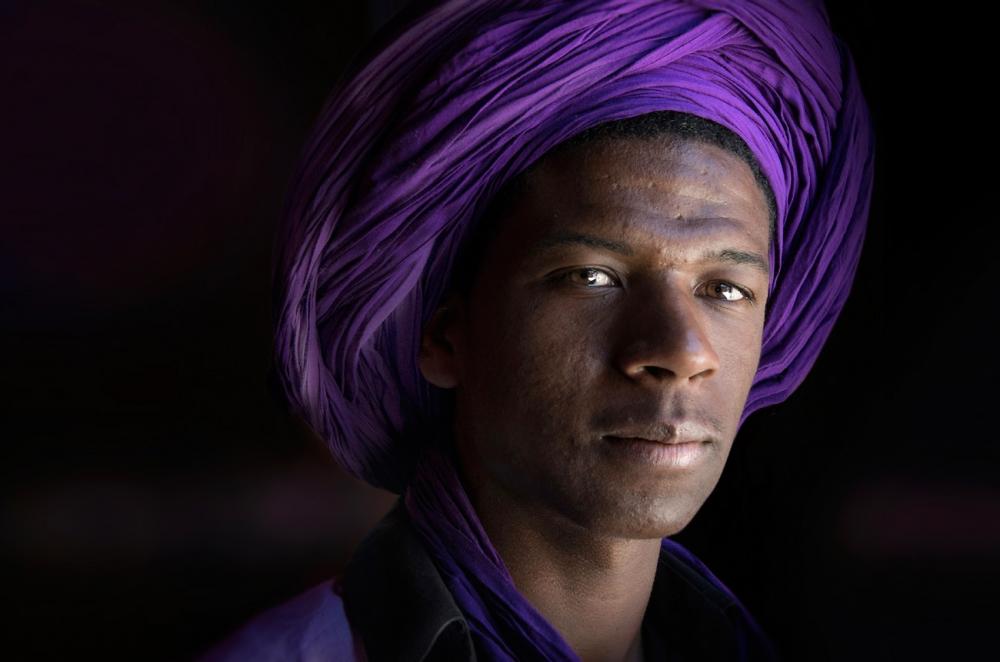 A piece of fine art art photography titled Ibrahim by Norbert Becke