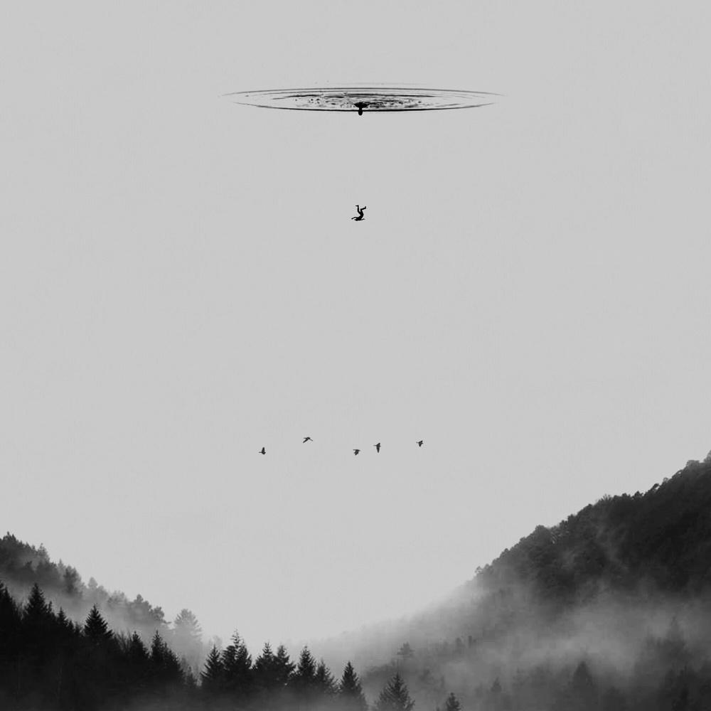 A piece of fine art art photography titled Drop by Hadi Malijani