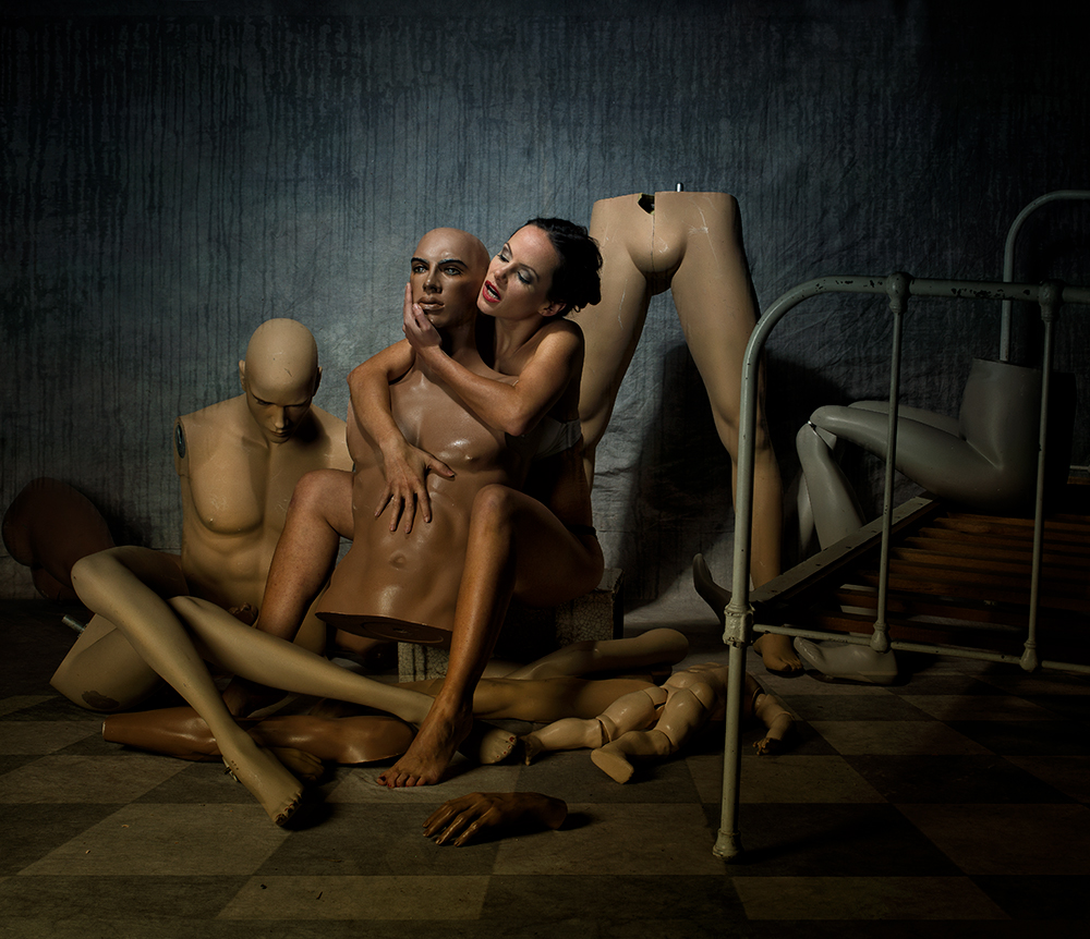A piece of fine art art photography titled 2gether by Peter Kemp