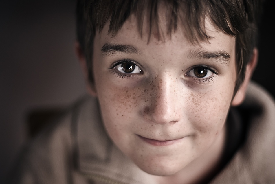 A piece of fine art art photography titled David by Thomas Ljungberg