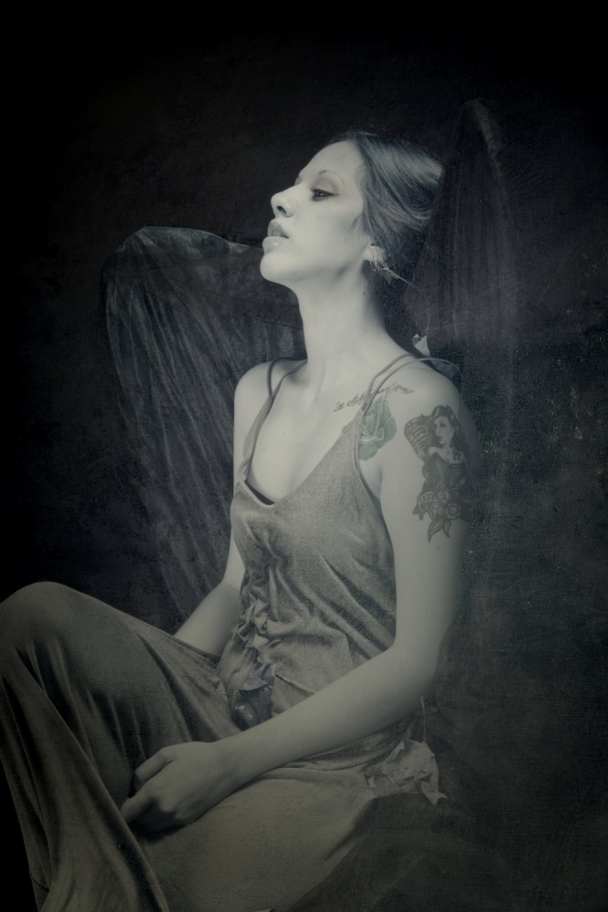 A piece of fine art art photography titled Insomnia by Olga Mest