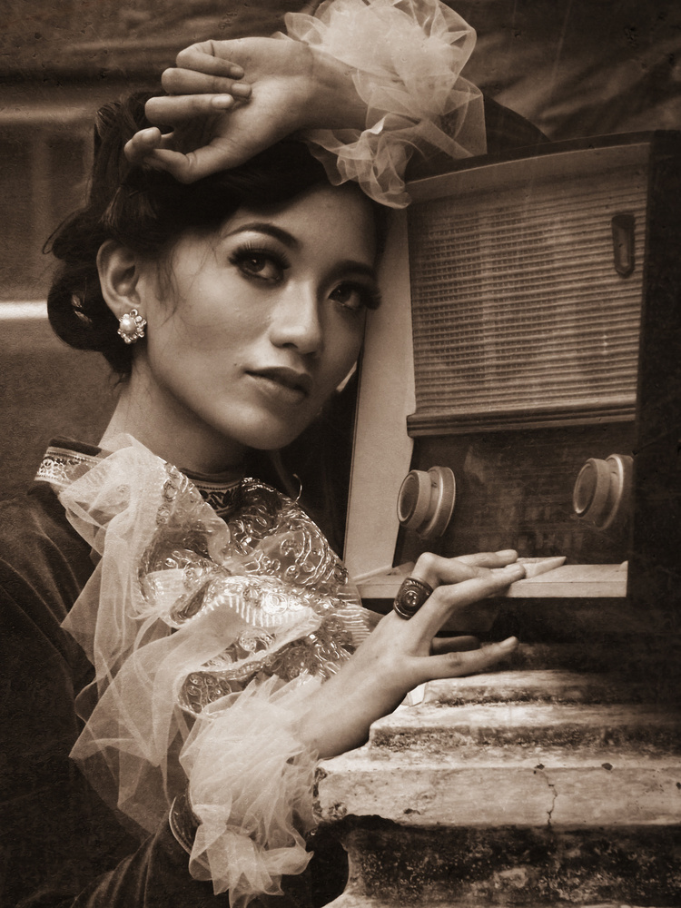 A piece of fine art art photography titled Listen by kahar lagaa