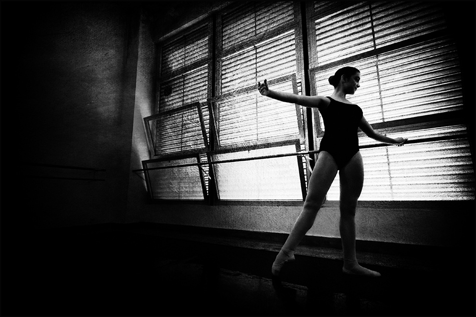 A piece of fine art art photography titled Ballerina by Franco Farina