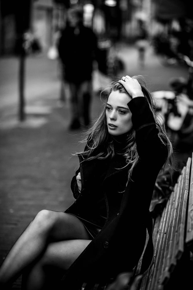 A piece of fine art art photography titled Anne-Robin S2 ~ VI by Nick van Dijk