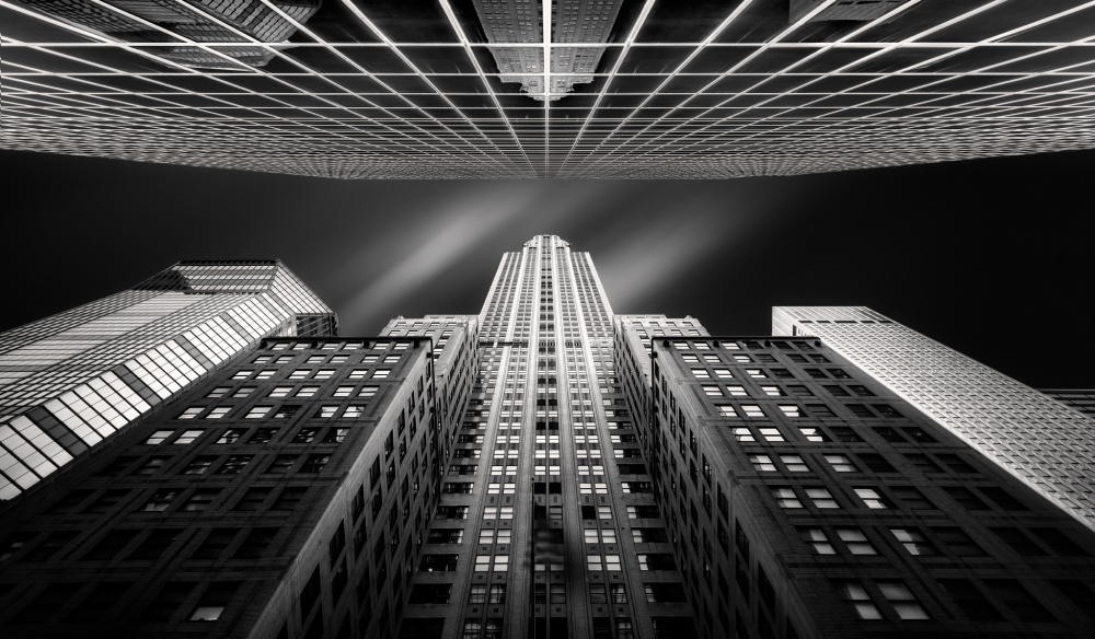 A piece of fine art art photography titled Chrysler Building by Jesús M. García