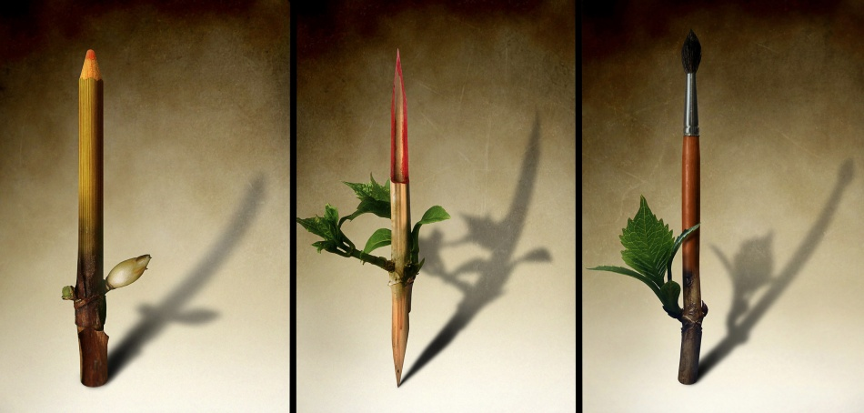 A piece of fine art art photography titled Le Printemps Se Dessine Bientôt by Ben Goossens