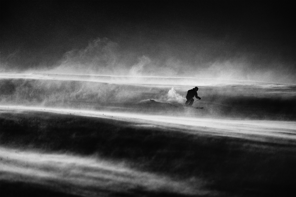 A piece of fine art art photography titled Race Against the Time and Wind by Peter Svoboda, MQEP