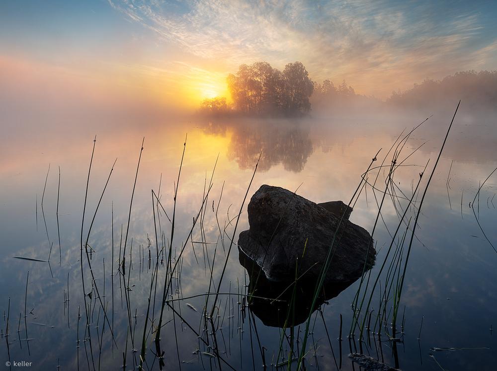 Tranquil morning