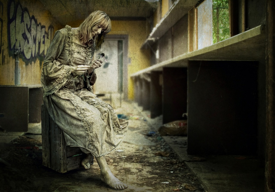 A piece of fine art art photography titled Living In Decay (1) by Ben Goossens