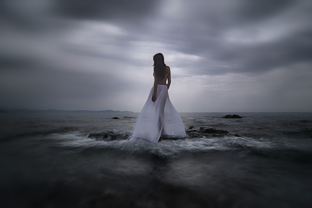 View this piece of fine art photography titled Ariadne's Lament by Maria Kaimaki