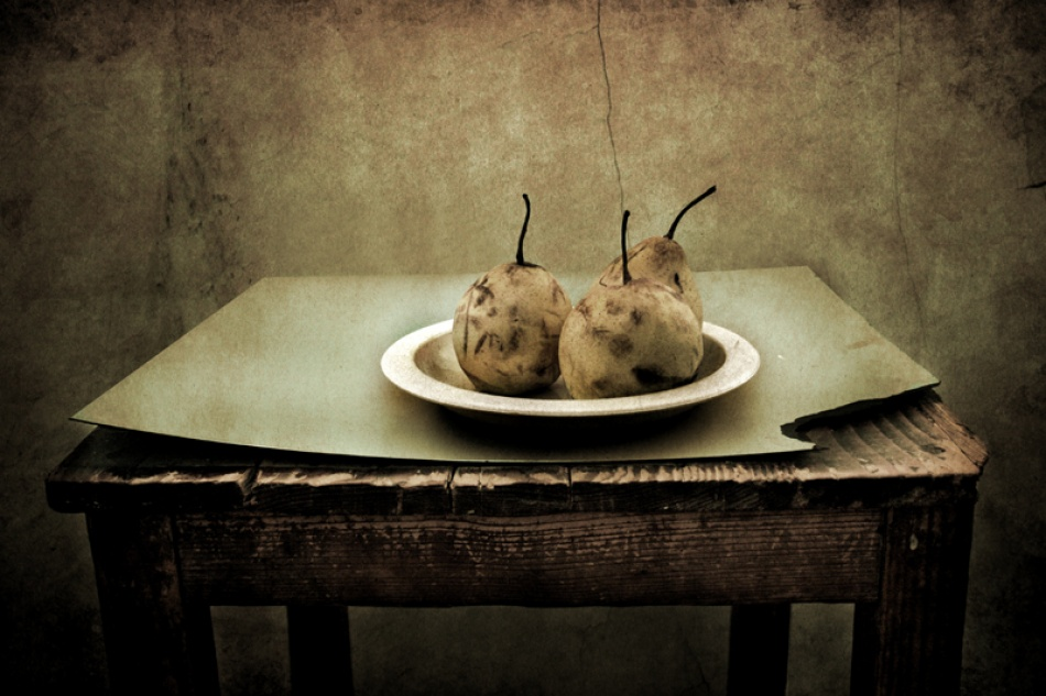 A piece of fine art art photography titled Forgot  Fruit by Sandra Štimac