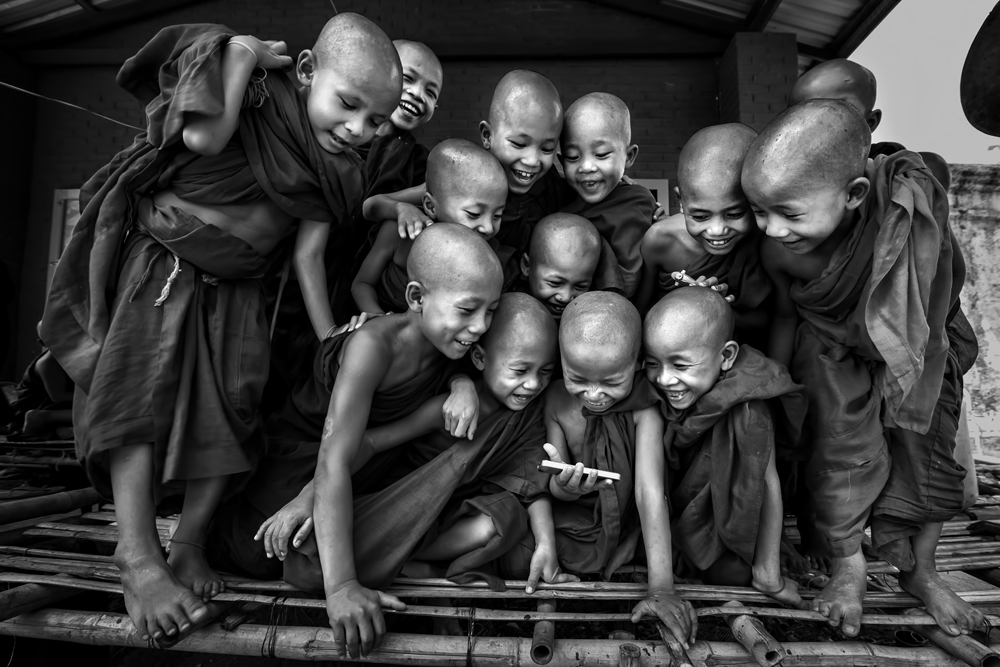 A piece of fine art art photography titled Happiness by Gunarto Song
