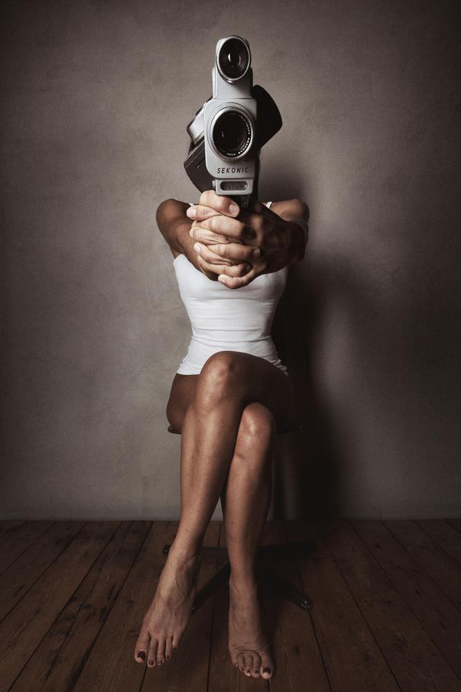 A piece of fine art art photography titled Captured by Jörg Heidenberger