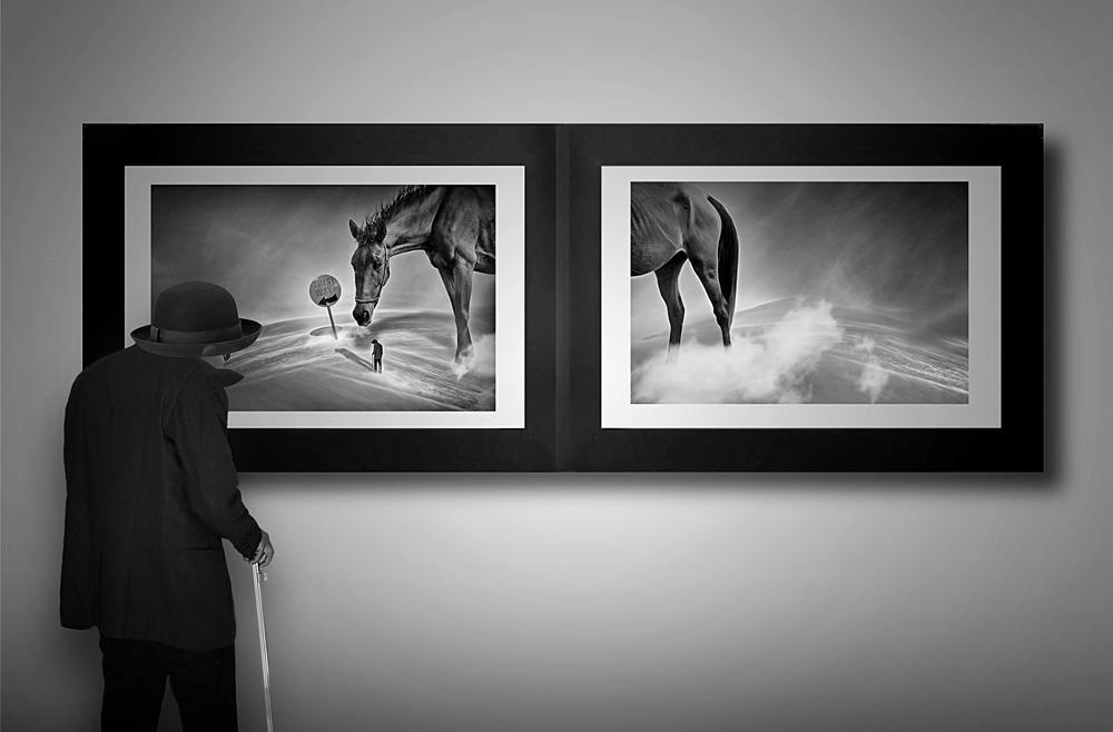 A piece of fine art art photography titled Mr Observer Art by hafizh photos