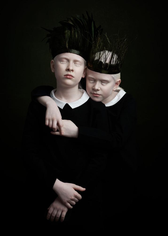 A piece of fine art art photography titled Together by Gemmy Woud-Binnendijk