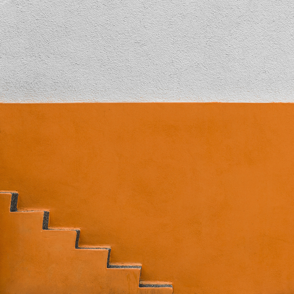 A piece of fine art art photography titled Little Staircase by minimalist