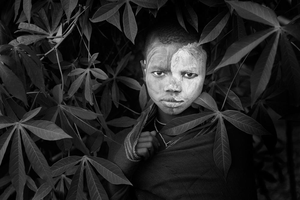 A piece of fine art art photography titled Suri Boy III by Jose Beut