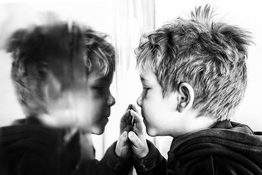 A piece of fine art art photography titled That's Me?! by Sebastian Vasiu (Sebastiæn)
