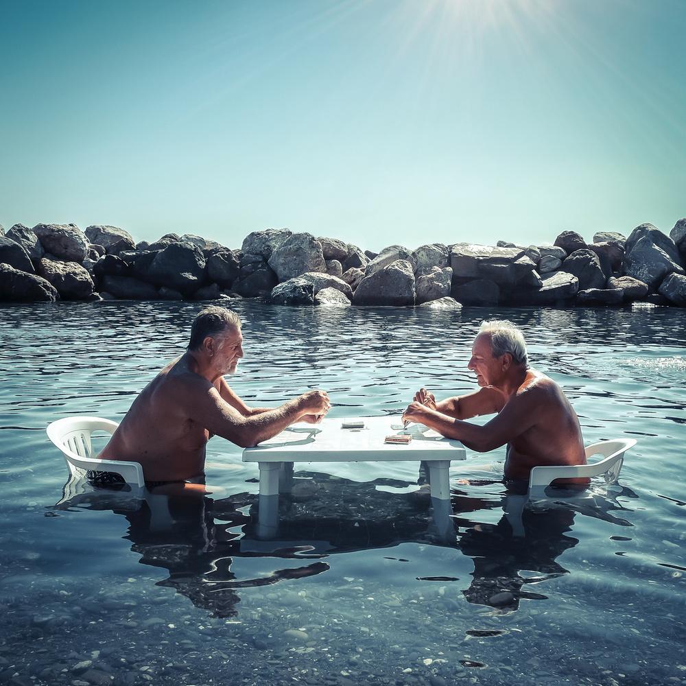 A piece of fine art art photography titled Summer Games by gianluca zaio