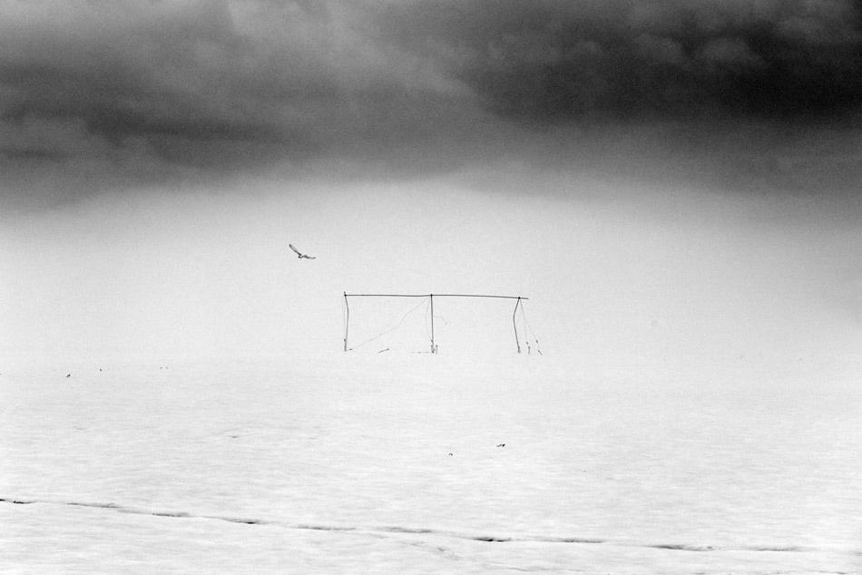 A piece of fine art art photography titled Dead End by Matjaz Stefancic