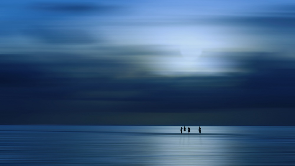 A piece of fine art art photography titled The Most Beautiful Place In the World by Harry Bünger