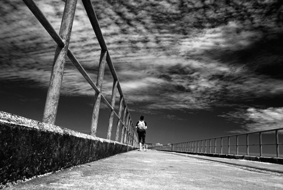 A piece of fine art art photography titled Alone by Thaib Chaidar
