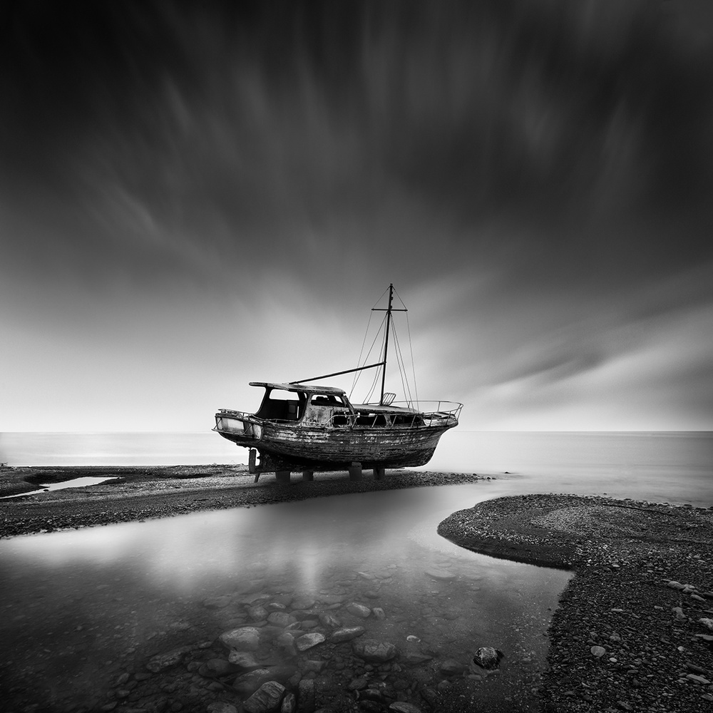 A piece of fine art art photography titled Distant Dreamer by George Digalakis