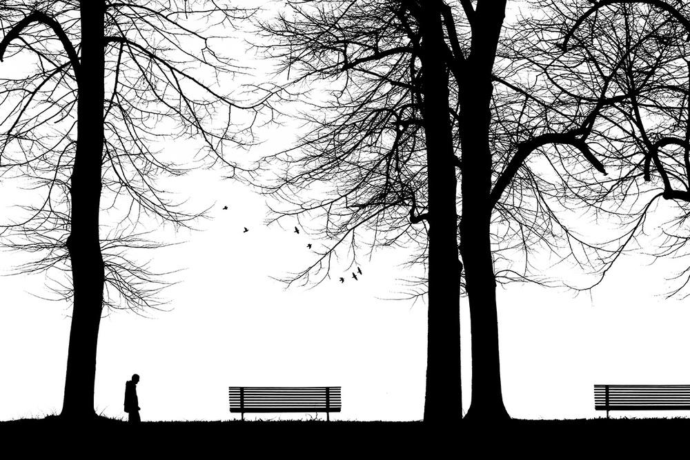 A piece of fine art art photography titled Solitudini 3 by Massimo Della Latta