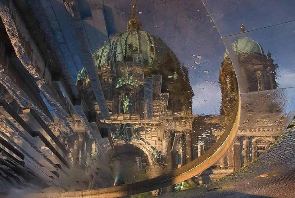 A piece of fine art art photography titled Berlin Cathedral by Waldemar Wienchol