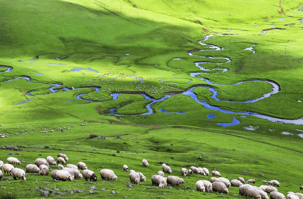 A piece of fine art art photography titled Plateau by suleyman uzumcu
