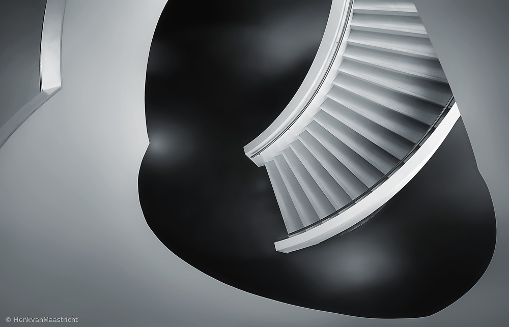 View this piece of fine art photography titled stair on floor by Henk van Maastricht