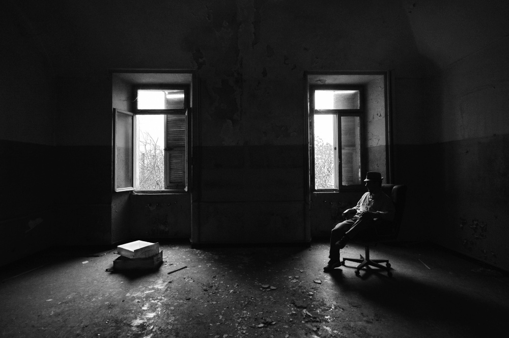 A piece of fine art art photography titled The Hidden Dream by Carlo Ferrara