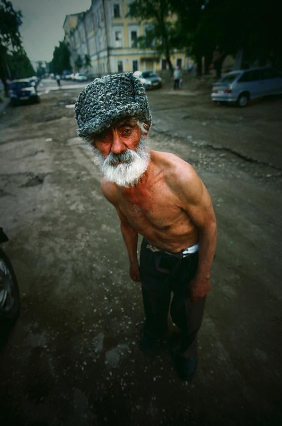 A piece of fine art art photography titled Friend from Kazanj by Janis Jurkovskis