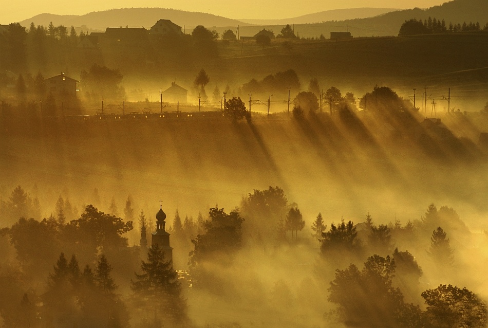 A piece of fine art art photography titled Awakeing by Janusz Wanczyk