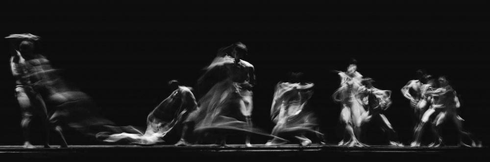 A piece of fine art art photography titled Ballet by Fran Zarak