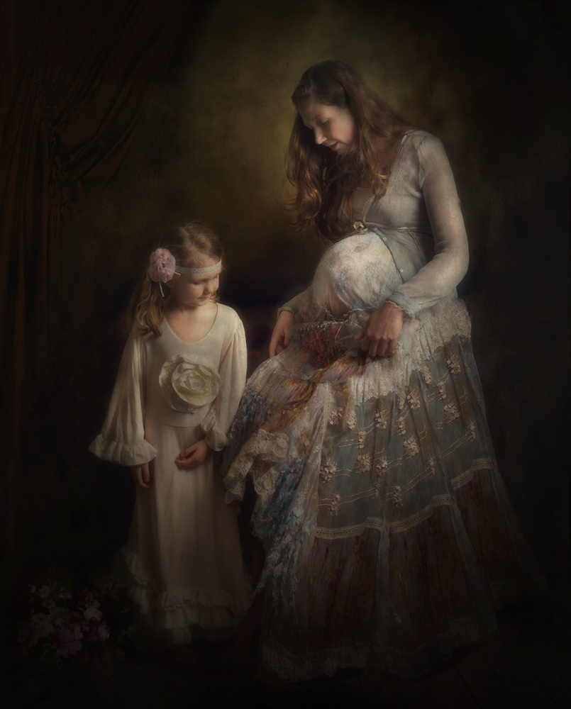 A piece of fine art art photography titled Due Date by Cindy Bijl