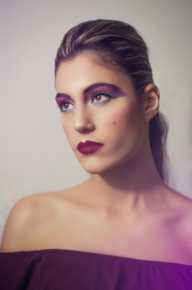 80s Makeup Style