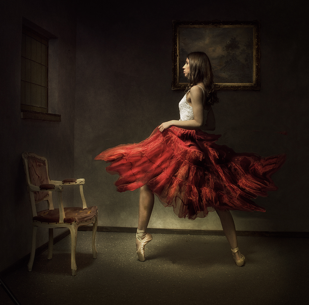 A piece of fine art art photography titled Painting by Peter Kemp