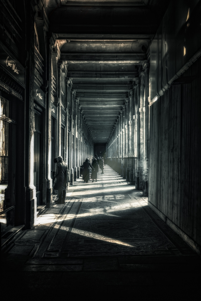 A piece of fine art art photography titled Ghosts by Loic REMY - ELREM