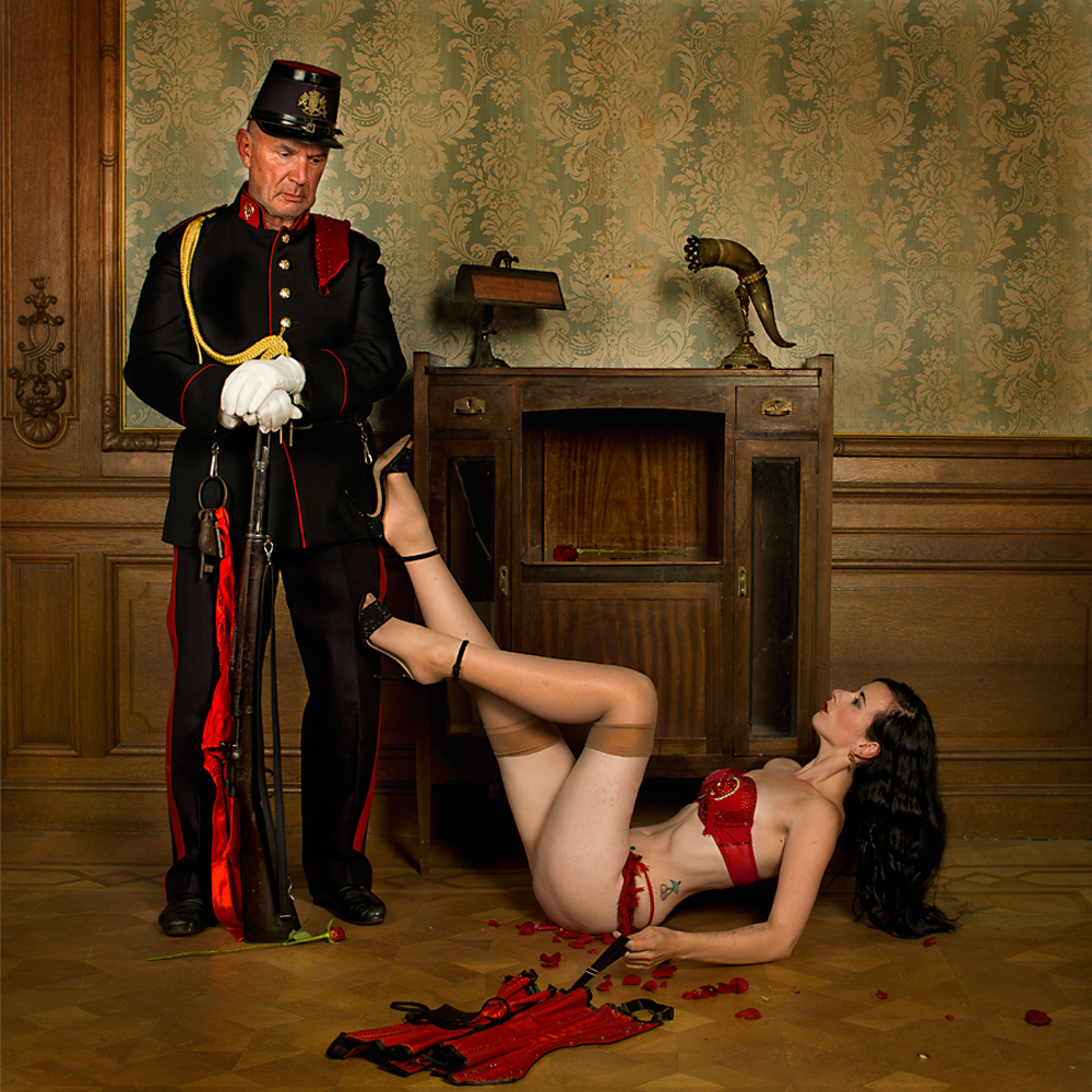 A piece of fine art art photography titled Thoughts by Peter Kemp